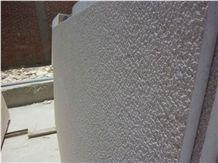 Sinia Pearl Bush Hummered, Egypt Brown Limestone Slabs & Tiles