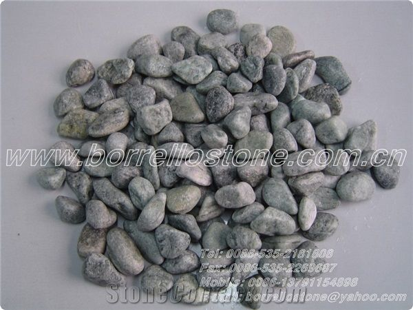 Landscaping Green Pebble For Sales Green Granite Pebbles From