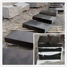 Shanxi Black ,Absolute Black , Pure Black Shanxi Black Granite Pavers