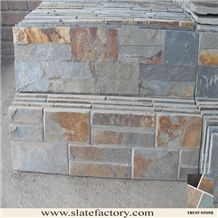 Peacock Slate Stacked Stone Fireplace Stone Cladding,Natural Stone Stacked Wall Siding,Stacked Stone Wall Facade,Stack Stone Wall Veneer,Stacked Stone Wall Panels