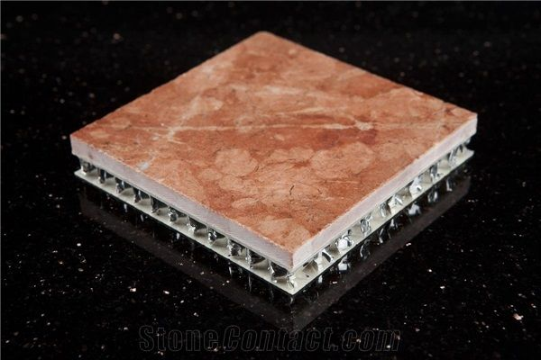 Honeycomb Marble Panel Marble Laminated Frp Panel From