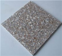 Natural Polished G648 Tile(Low Price)Cheap Popular Zhangpu Red Granite G648 Pink Polished Tile Price, China Pink Stone for Floor Covering, Wall Paneling, French Pattern Swimming Pool Cover Copers Tile