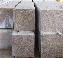 Natural Polished G687 Tile(Good Price)Shrimp Red Granite Floor Tiles/Rosa Pesco Granite Wall Tiles/Rose Pink Granite Square Pavers/Sunset Red Granite Tiles,,Cut Size for Countertop,Vanity Top,Paving