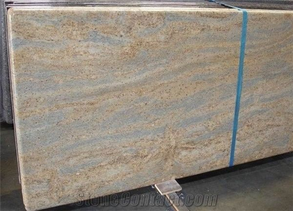 Polished Kashmir Gold Granite Countertop Low Price From