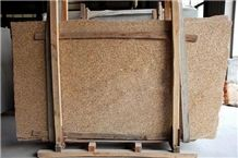 Polished Vietnam Yellow Granite Slab(low Price)