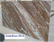 Fantasy Brown Marble Slabs,Toronto Brown Marble, Multicolour Marble