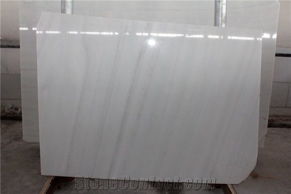Afghan White Marble Slabs Pearl White Marble Slabs From