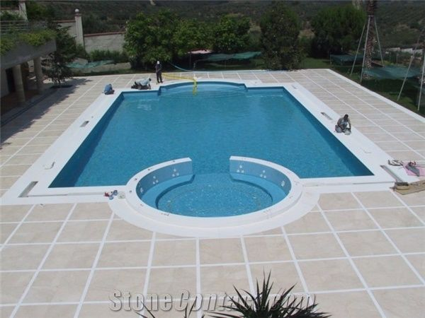 Marble Pool Decks Brilliant Beige Marble Pool Pavers White Marble Deck Usak White Marble