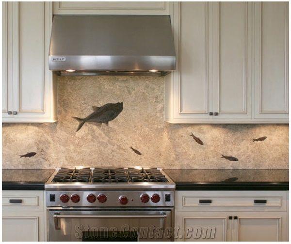 Fossil Kitchen Tiles