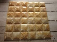 Honey Onyx Mosaic, Honey Onxy Yellow Onyx Mosaic