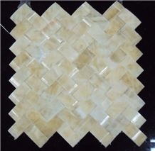 Hony Onxy Mosaic, Honey Onxy Yellow Onyx Mosaic