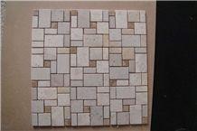 Beige Limestone Mosaic