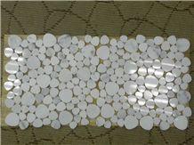 Eastern White Marble Mosaic