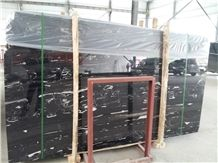 Silver Dragon, China Black Marble Slabs & Tiles