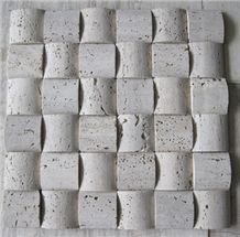 Travertine Mosaic Tile, Beige Travertine Mosaic
