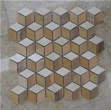Waterjet Marble Mosaic Tile