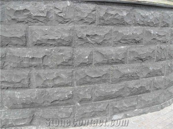 Basalt Mushroom Stone Wall Cladding Black Basalt Mushroom