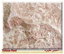 Tobza Red Split Face, Qatranah Red Limestone Tiles