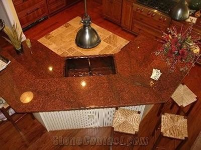 Red Dragon Granite Kitchen Top from