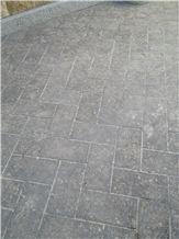 Flamed Osona Blue Stone Pavement, Osona Grey Blue Stone Pavement
