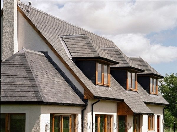 Ssq Ultra Riverstone Grey Slate Roof Tiles From United