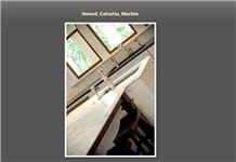 Honed Calacatta Marble Countertop, Calacatta Gold White Marble Countertop