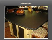 Black Granite Kitchen Island Top