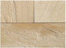 Buff/ Camel Dust Sandstone Natural Hand-Cut