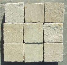 Sandstone Natural Cobbles (Color: Mint, Multi Color, Autumn Brown, Kandla Grey)