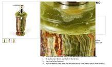 Lotion Dispenser Of Classic Green Onyx