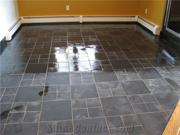 Slate Floor Restoration From United States Stonecontact Com