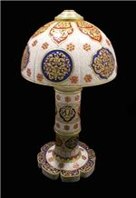 Marble Antique Victorian Marble Lamps, White Marble Home Decor