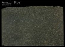 Amazon Blue Granite Slabs, Brazil Blue Granite