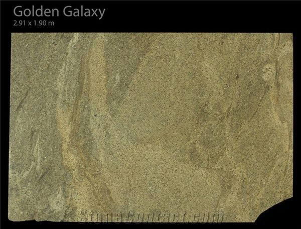 Golden Galaxy Granite Slabs Brazil