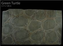 Green Turtle (Verde Tortuga), Verde Tortuga Green Quartzite Slabs