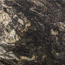 Black Cosmic Granite Tiles, Brazil Black Granite