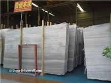 Grey Wooden Marble Salbs 240upx120upx1.5cm, Grey Wood Grain Marble Slabs