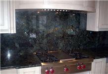 Tsoa Pearl - Labradorite Green Madagascar, Granite Kitchen Countertops