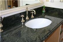 Verde Maritaca Bathroom Top, Verde Maritaca Green Granite Bathroom Top