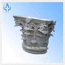 Granite Grey Column, Grey Granite