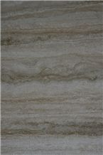 Tivoli Roman Silver Travertine Tiles & Slabs, Grey Polished Travertine Floor Tiles, Wall Tiles