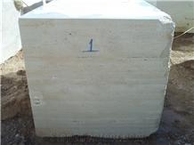 Karaman Light Travertine Blocks, Karaman Travertine Block