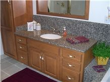 Cheap Chinese Leopard Skin Vanity Top