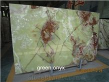 China High Quality Chinese Green Onyx Slab,Buliding Stone