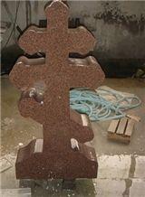 Chinese Granite Qilu Red Headstone