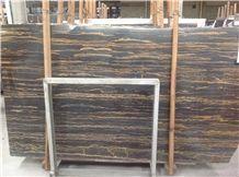 Chinese Marble Golden Portoro Slab