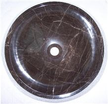 Spain Dark Emperador Stone Sink