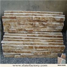 Yellow Quartzite Stacked Stone