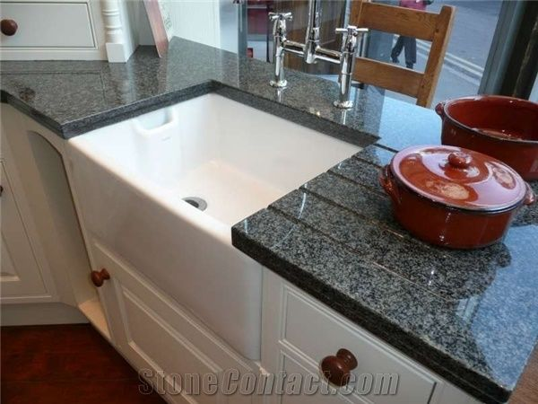 Impala Black Granite Countertop From South Africa 142254