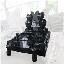 China Shanxi Black Granite Memorials